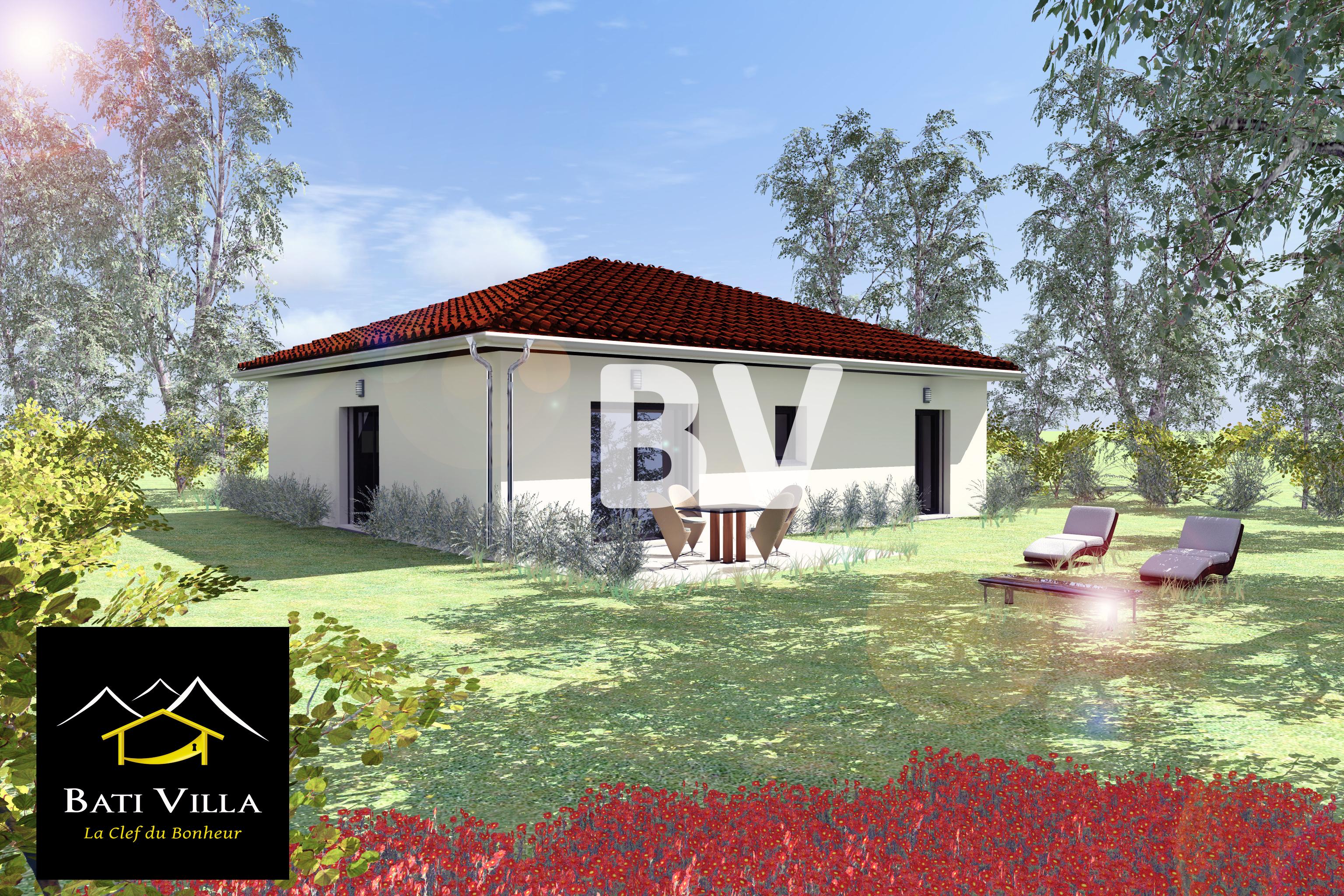 Maisons + Terrains du constructeur BATIVILLA SARL A&K • 90 m² • CHATUZANGE LE GOUBET