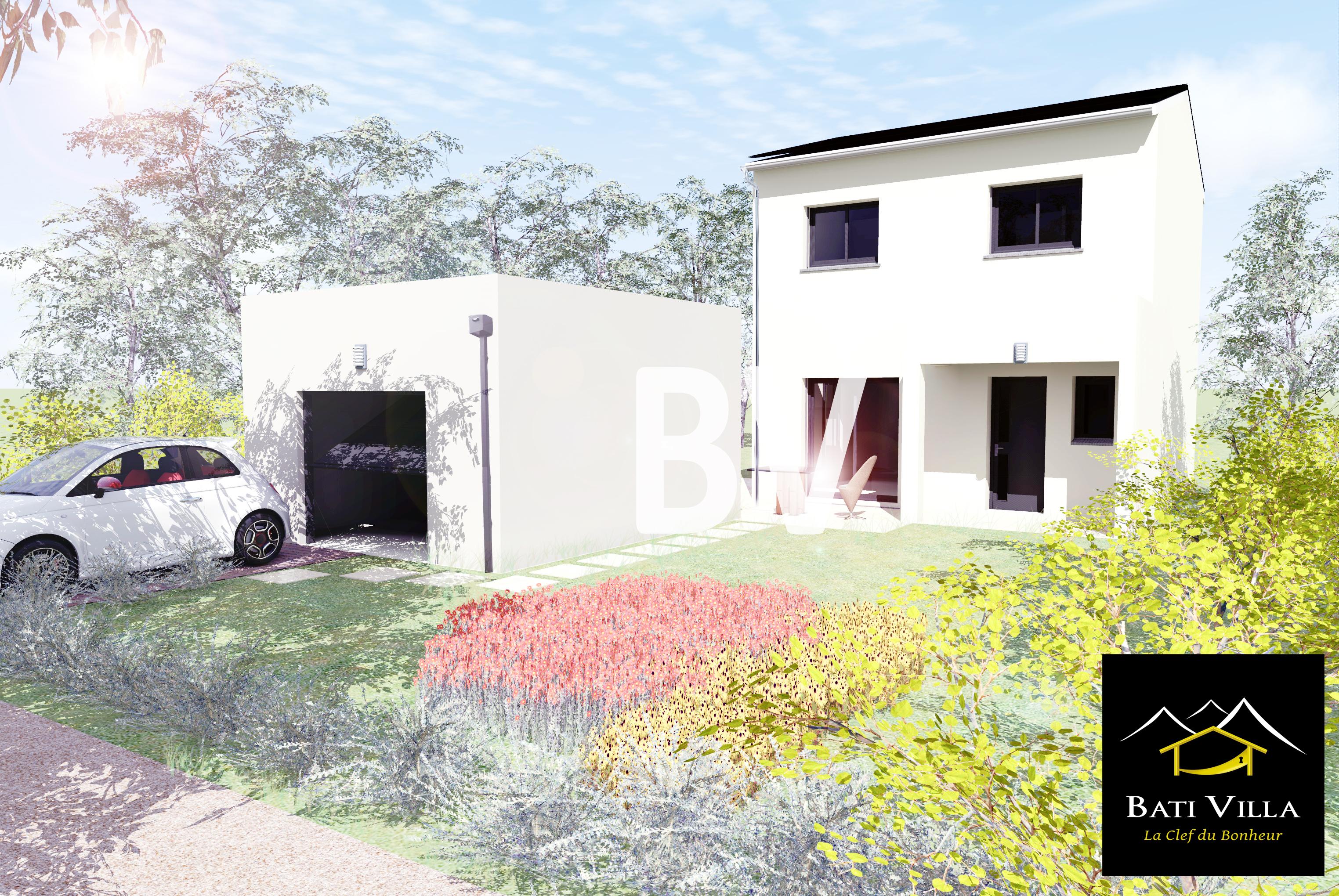 Maisons + Terrains du constructeur BATIVILLA SARL A&K • 82 m² • MONTELIMAR