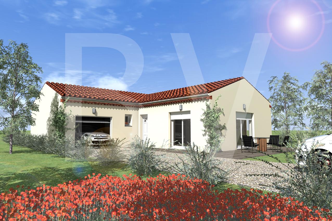 Maisons + Terrains du constructeur BATIVILLA SARL A&K • 91 m² • MONTBOUCHER SUR JABRON