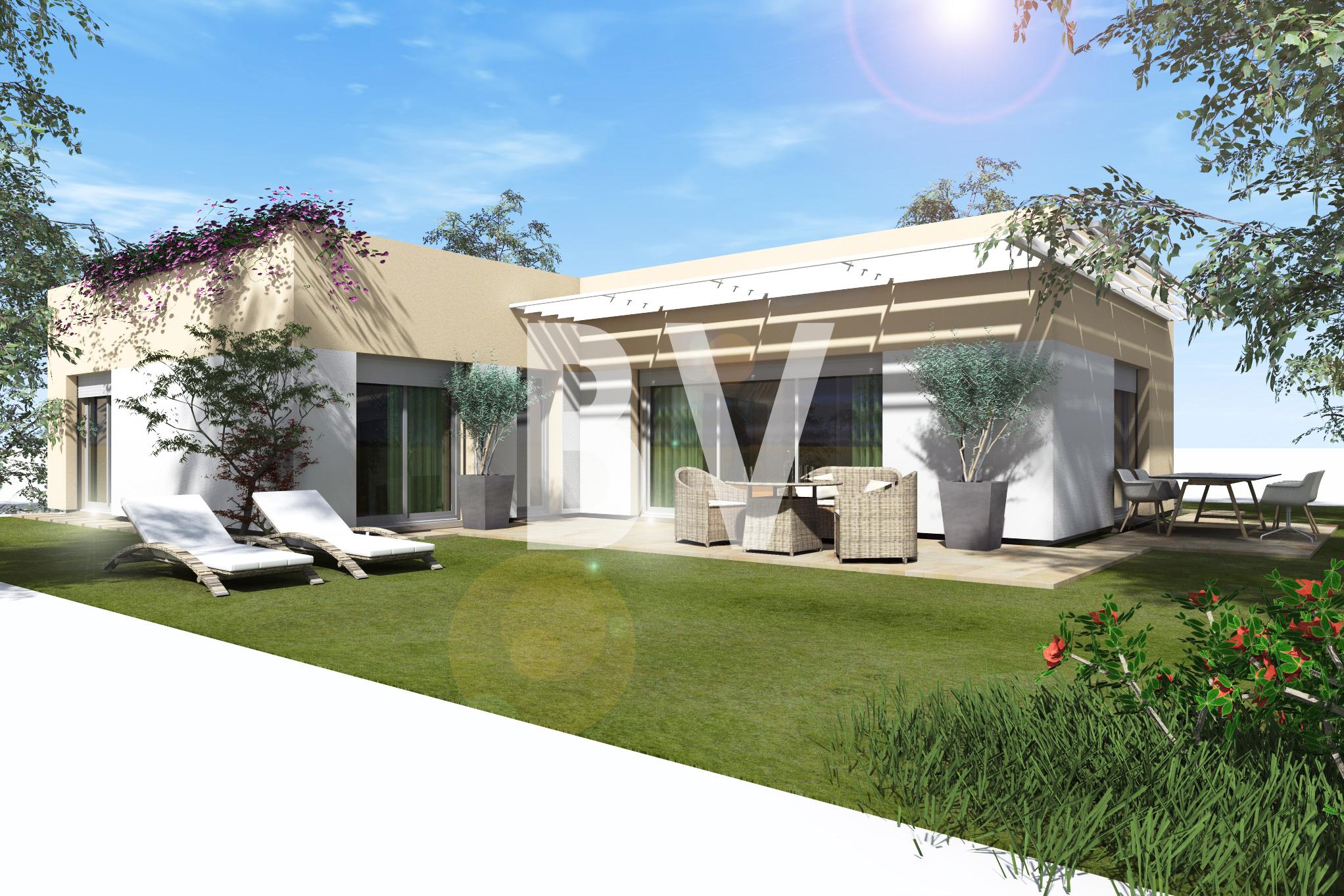 Maisons + Terrains du constructeur BATIVILLA SARL A&K • 90 m² • MOURS SAINT EUSEBE