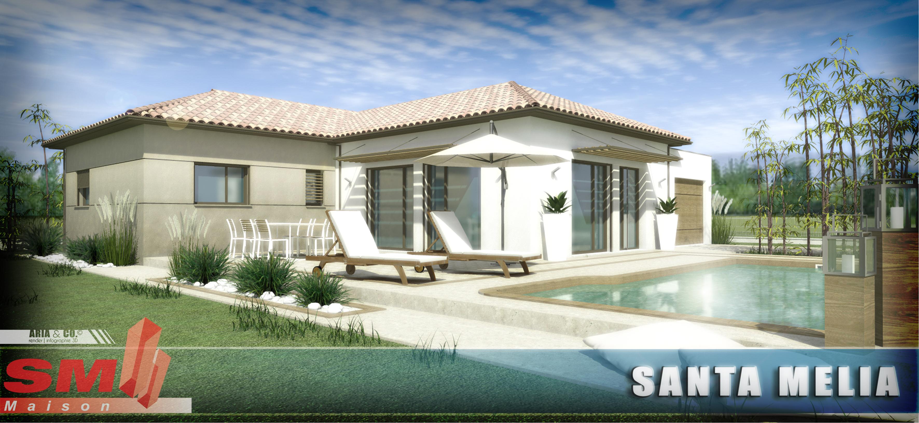 Maisons + Terrains du constructeur SM 11 • 100 m² • LAURENS