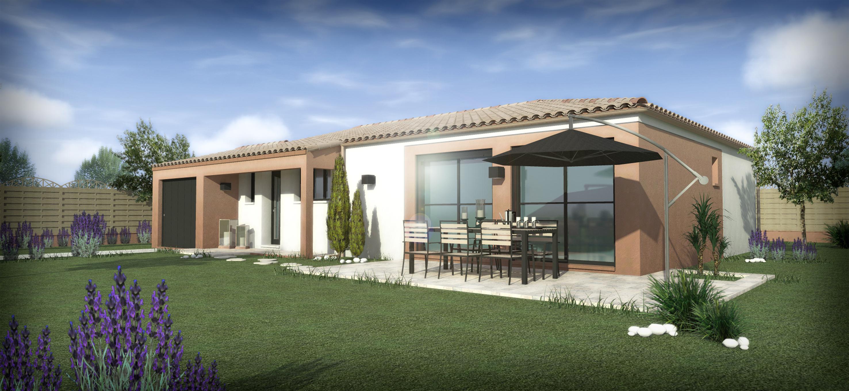 Maisons + Terrains du constructeur SM 11 • 90 m² • MAGALAS