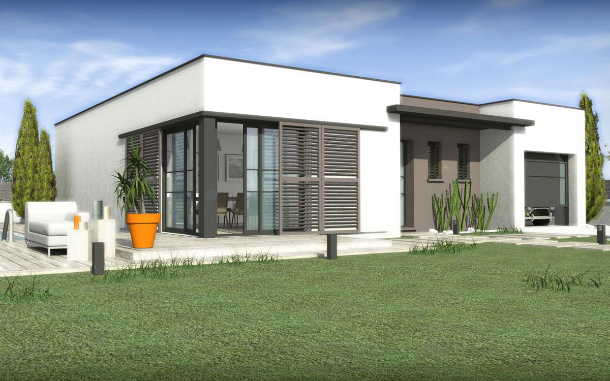 Maisons + Terrains du constructeur SM 11 • 90 m² • CREISSAN
