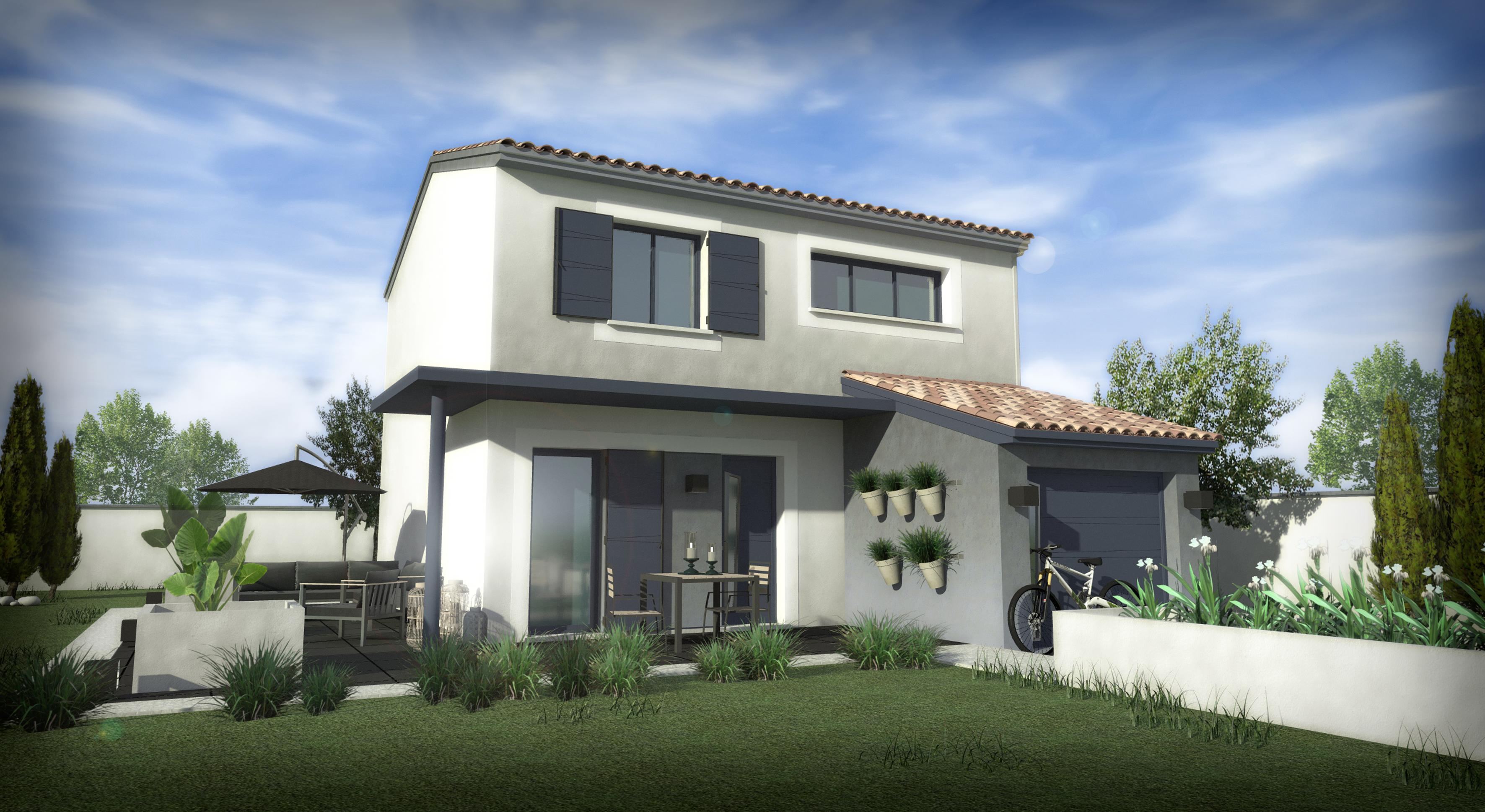 Maisons + Terrains du constructeur SM 11 • 85 m² • BESSAN