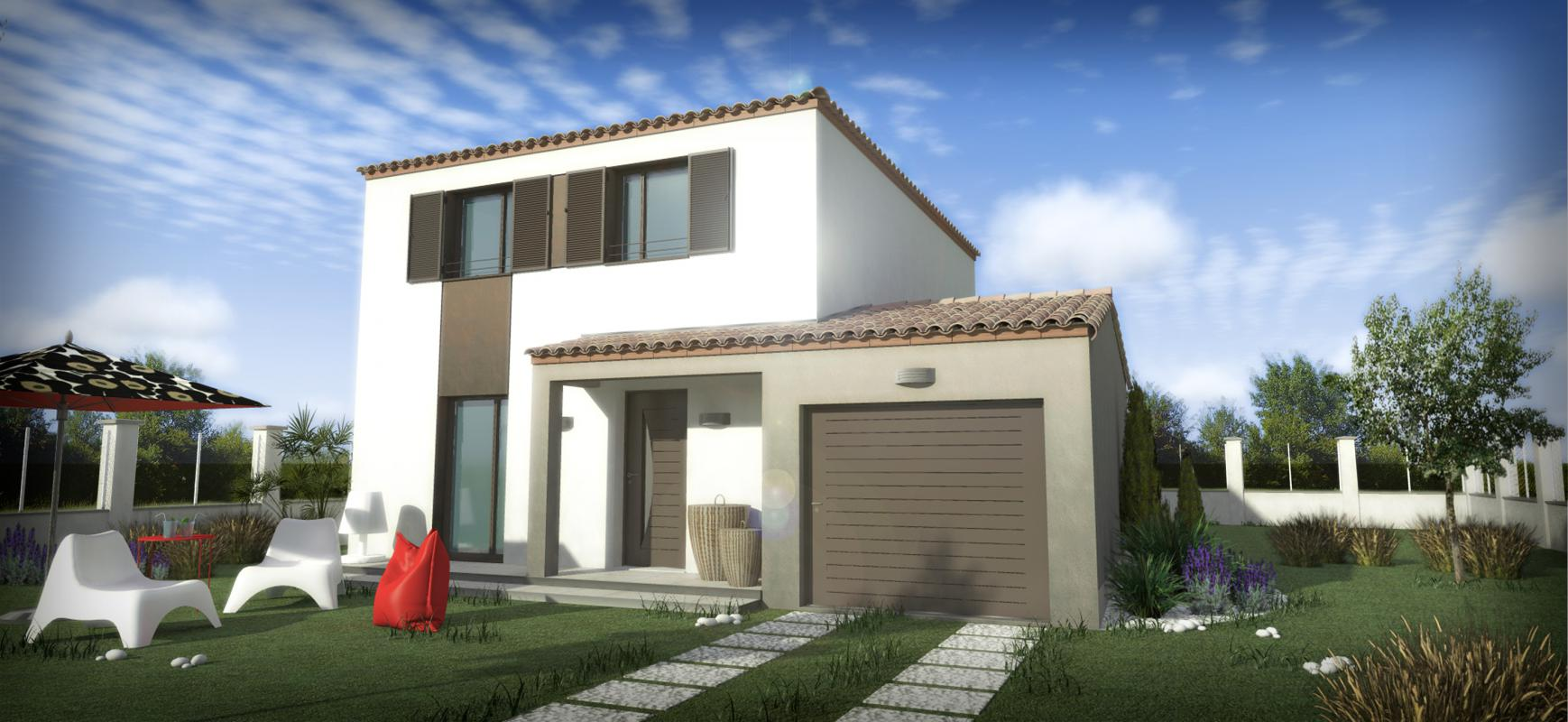 Maisons + Terrains du constructeur SM 11 • 80 m² • SAINT THIBERY