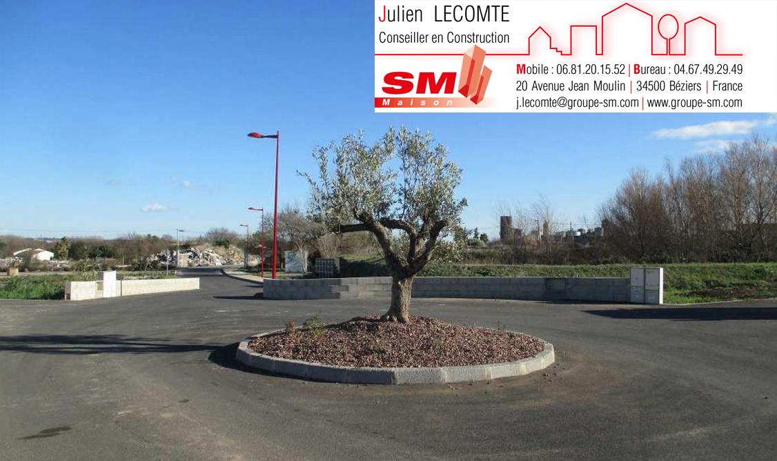 Terrains du constructeur SM 11 • 344 m² • SAINT THIBERY