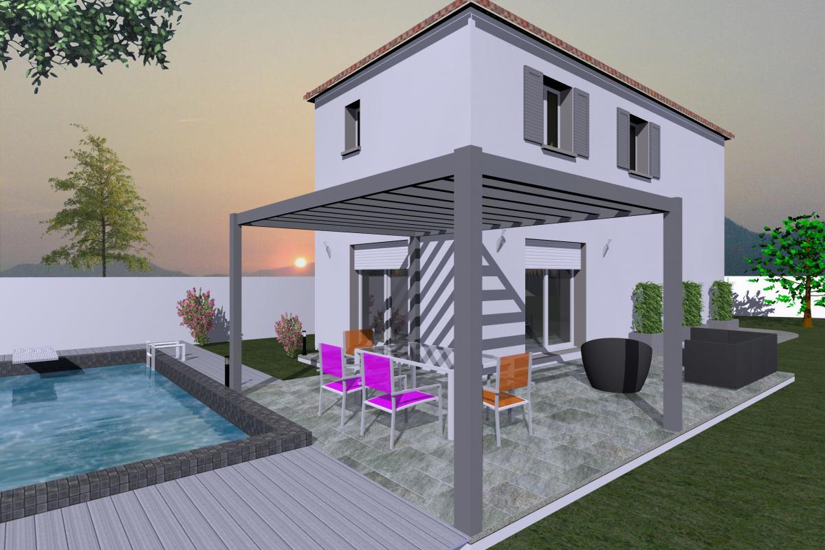 Maisons + Terrains du constructeur SM 11 • 89 m² • CERS