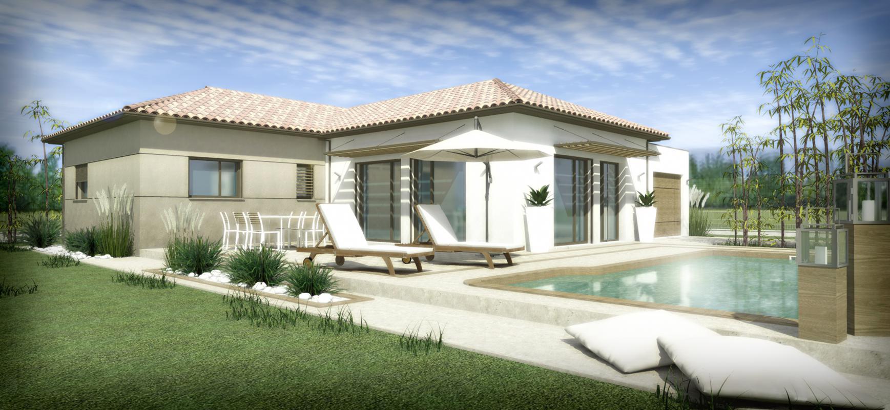 Maisons + Terrains du constructeur SM 11 • 100 m² • SAINT GENIES DE FONTEDIT