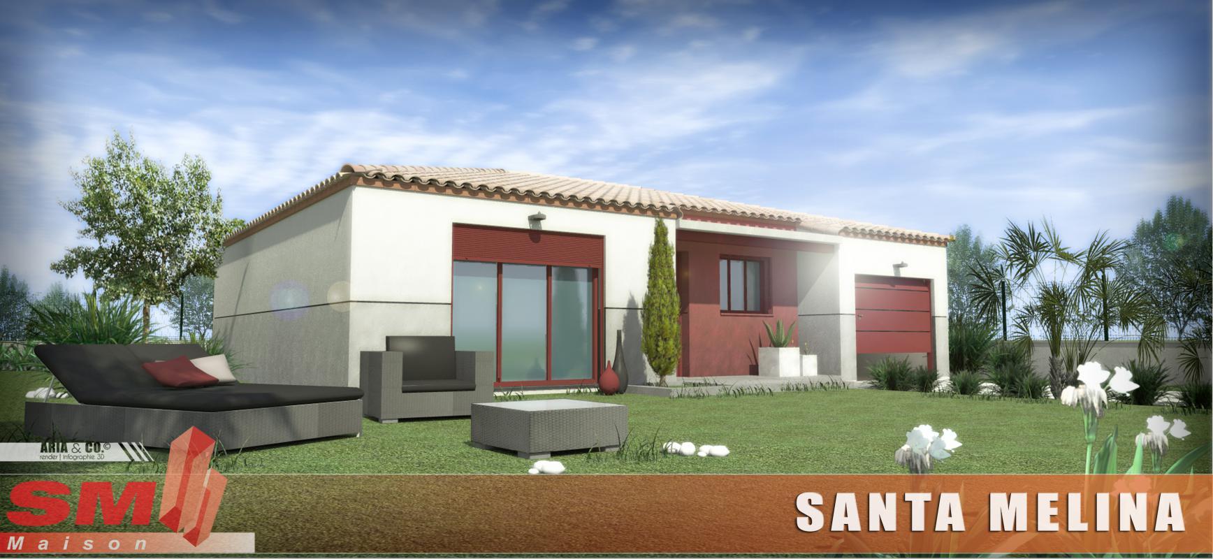 Maisons + Terrains du constructeur SM 11 • 85 m² • POUZOLLES