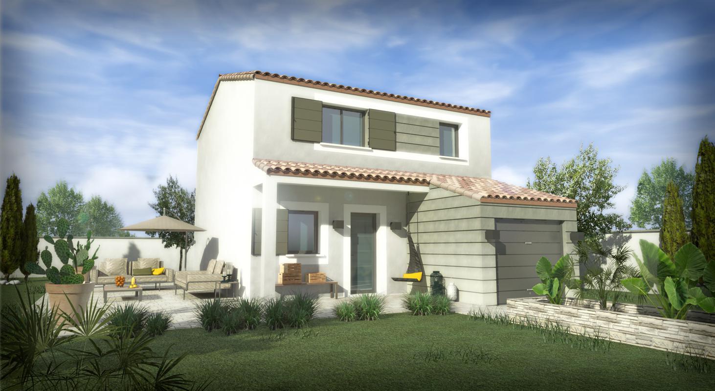 Maisons + Terrains du constructeur SM 11 • 80 m² • VIAS