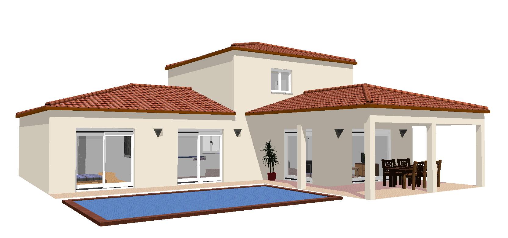 Maisons + Terrains du constructeur SM 11 • 130 m² • BEZIERS
