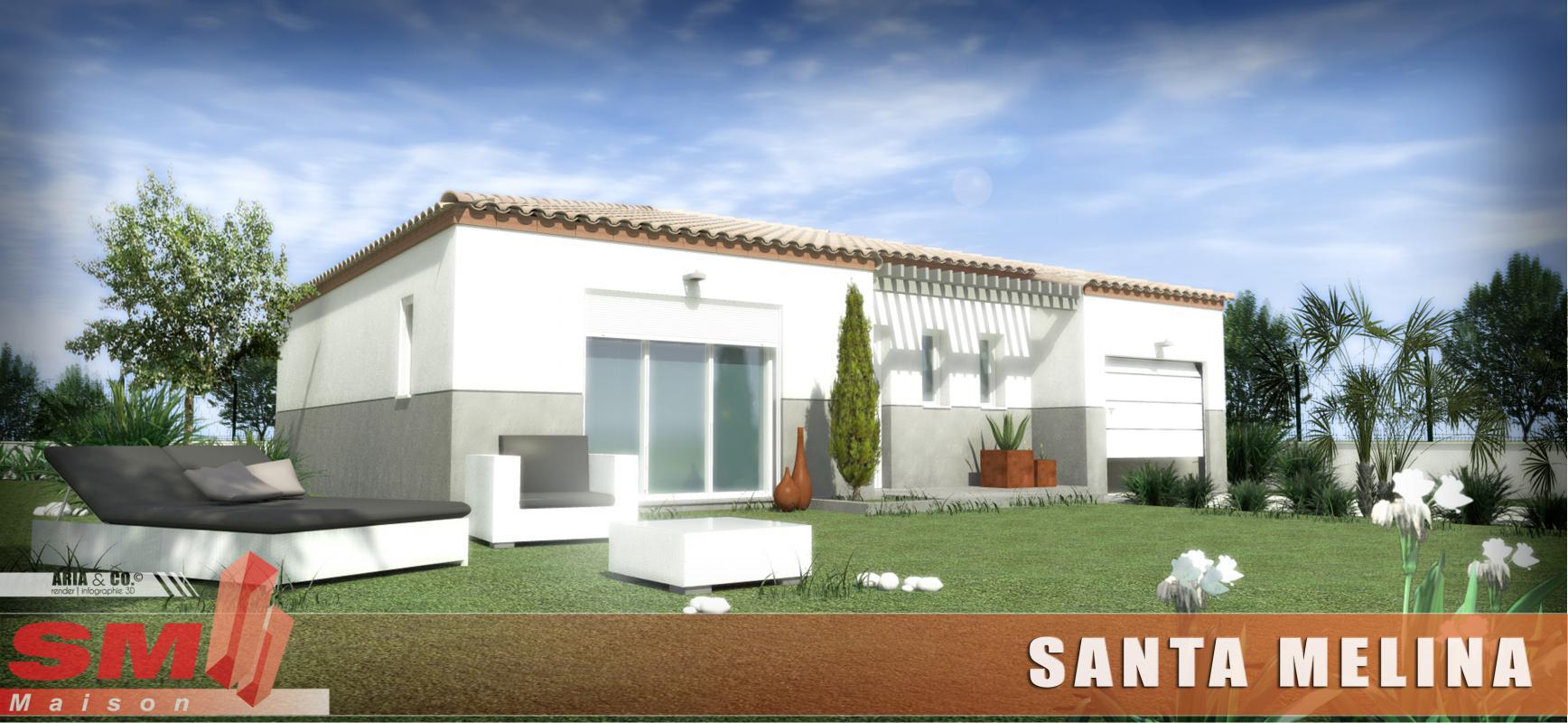 Maisons + Terrains du constructeur SM 11 • 80 m² • MONTADY