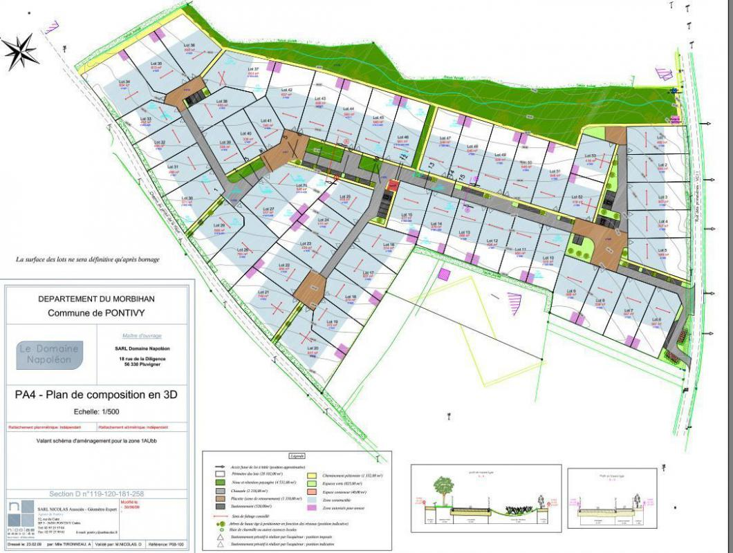Terrains du constructeur MAISONS KERBEA • 807 m² • PONTIVY