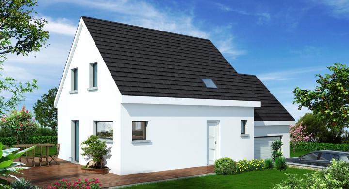 Maisons + Terrains du constructeur MAISONS STEPHANE BERGER SUD ALSACE • 110 m² • SPECHBACH LE BAS