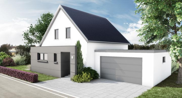 Maisons + Terrains du constructeur MAISONS STEPHANE BERGER SUD ALSACE • 92 m² • REININGUE