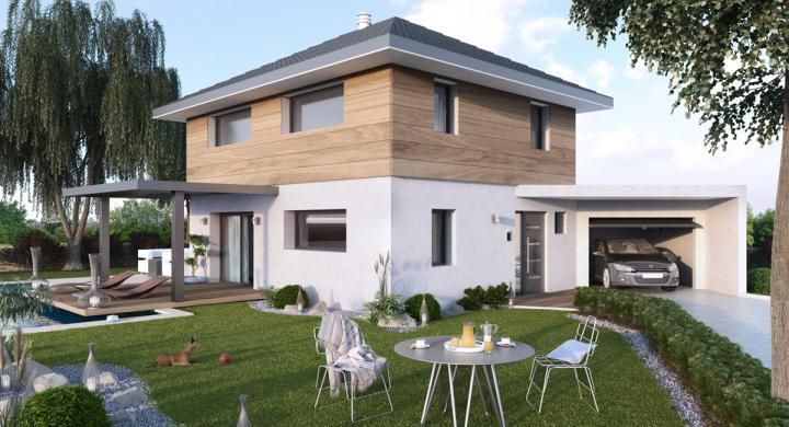 Maisons + Terrains du constructeur MAISONS STEPHANE BERGER SUD ALSACE • 120 m² • GUNDOLSHEIM