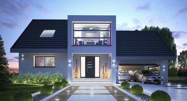 Maisons + Terrains du constructeur MAISONS STEPHANE BERGER SUD ALSACE • 143 m² • HINDLINGEN