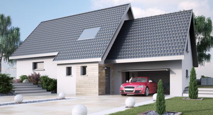 Maisons + Terrains du constructeur MAISONS STEPHANE BERGER SUD ALSACE • 140 m² • LINSDORF