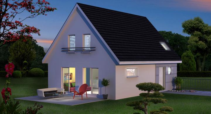 Maisons + Terrains du constructeur MAISONS STEPHANE BERGER SUD ALSACE • 114 m² • LINSDORF