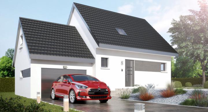 Maisons + Terrains du constructeur MAISONS STEPHANE BERGER SUD ALSACE • 92 m² • CARSPACH