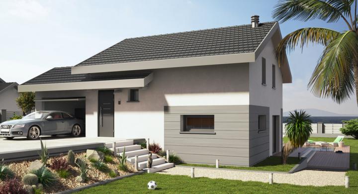 Maisons + Terrains du constructeur MAISONS STEPHANE BERGER SUD ALSACE • 100 m² • ALTKIRCH