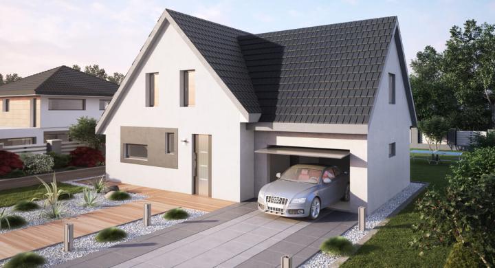 Maisons + Terrains du constructeur MAISONS STEPHANE BERGER SUD ALSACE •  m² • WITTELSHEIM