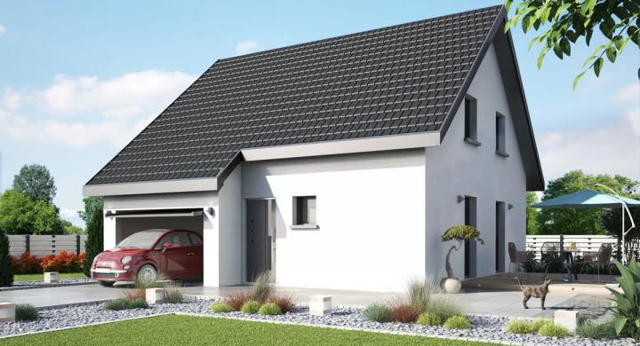 Maisons + Terrains du constructeur MAISONS STEPHANE BERGER SUD ALSACE •  m² • MERXHEIM