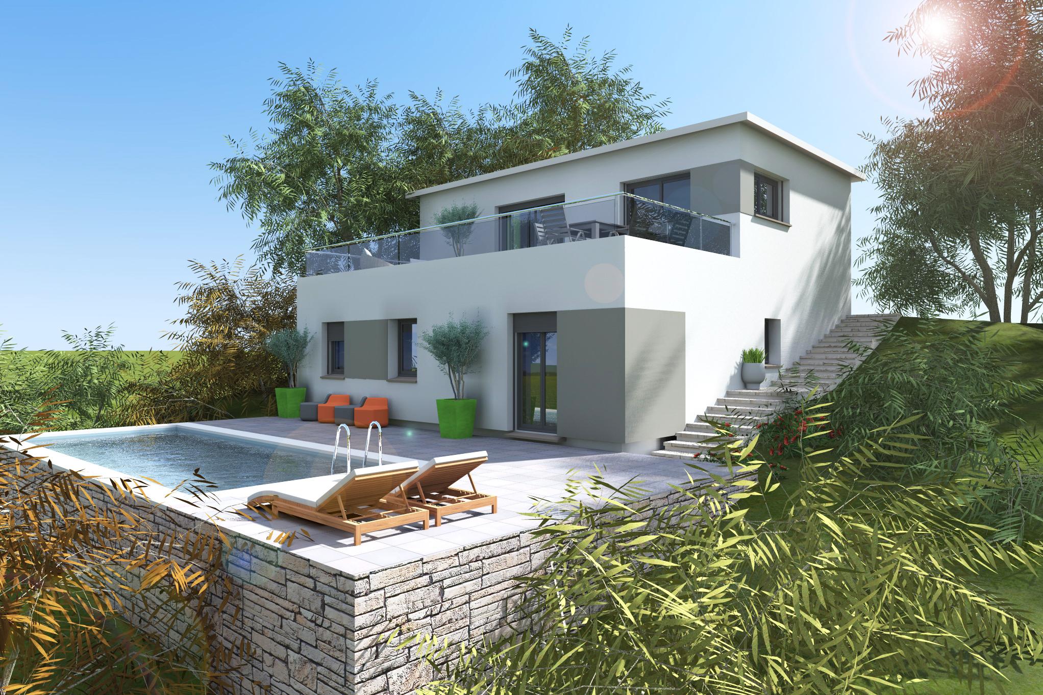 Maisons + Terrains du constructeur VILLAS PLEIN SUD -PRO RENOV26/07-D • SAINT DONAT SUR L'HERBASSE