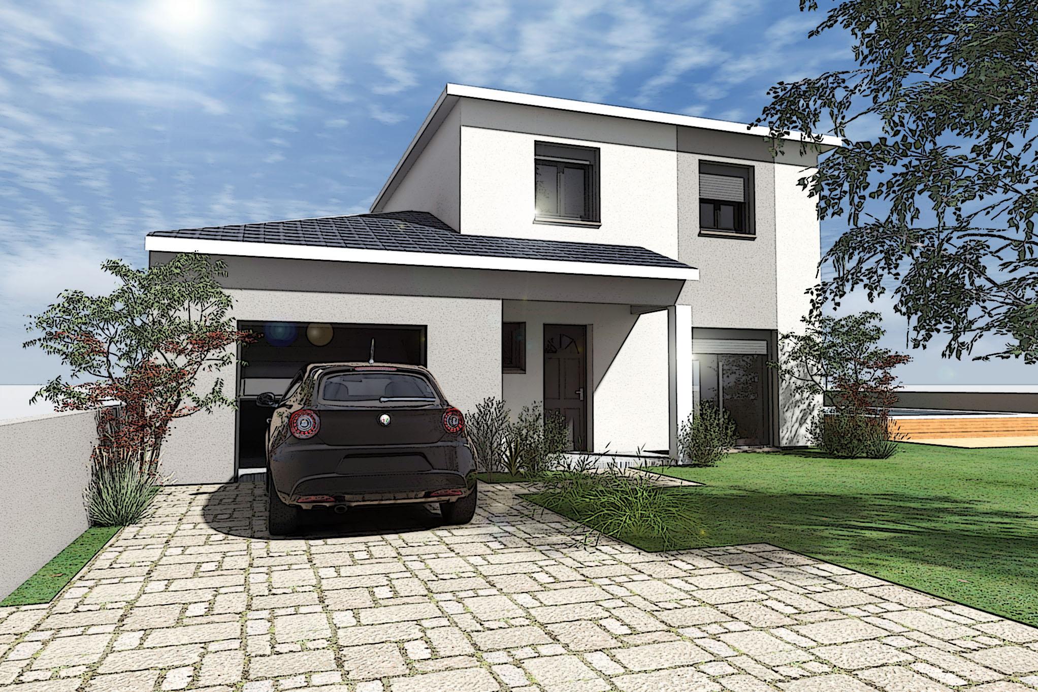 Maisons + Terrains du constructeur VILLAS PLEIN SUD -PRO RENOV26/07-D • 85 m² • BOURG DE PEAGE