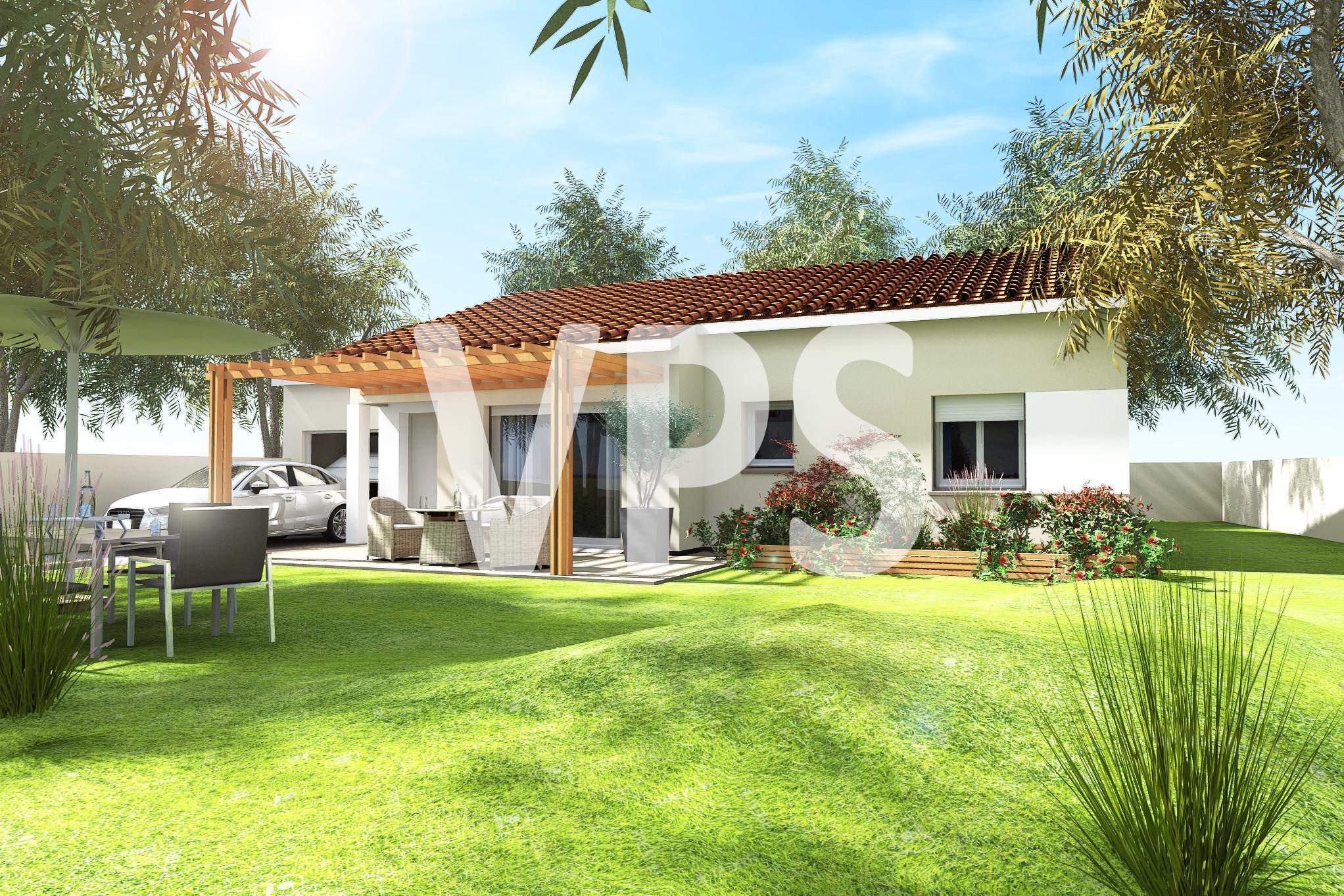 Maisons + Terrains du constructeur VILLAS PLEIN SUD -PRO RENOV26/07-D • 91 m² • SAINT LATTIER