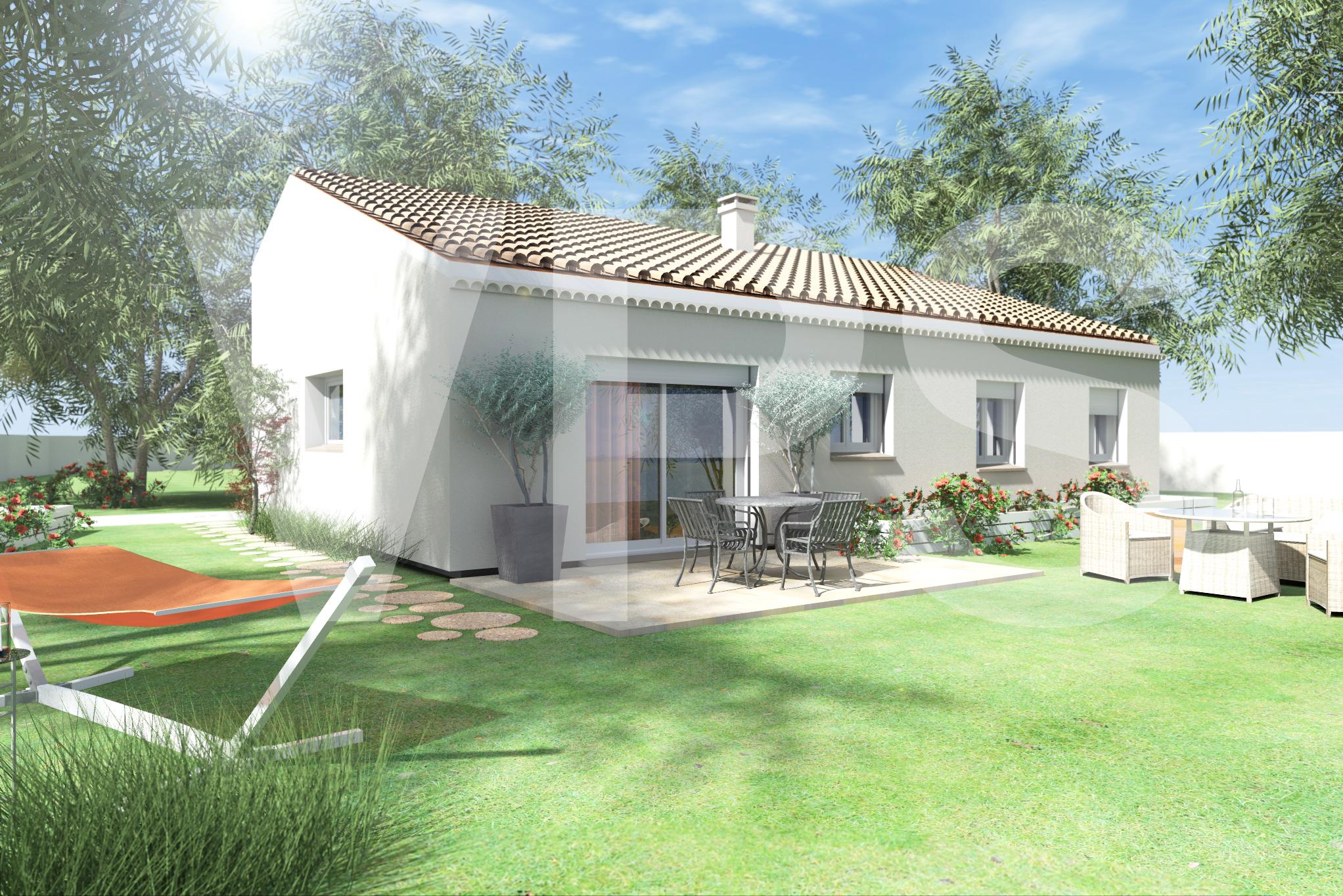 Maisons + Terrains du constructeur VILLAS PLEIN SUD -PRO RENOV26/07-D • 71 m² • JAILLANS