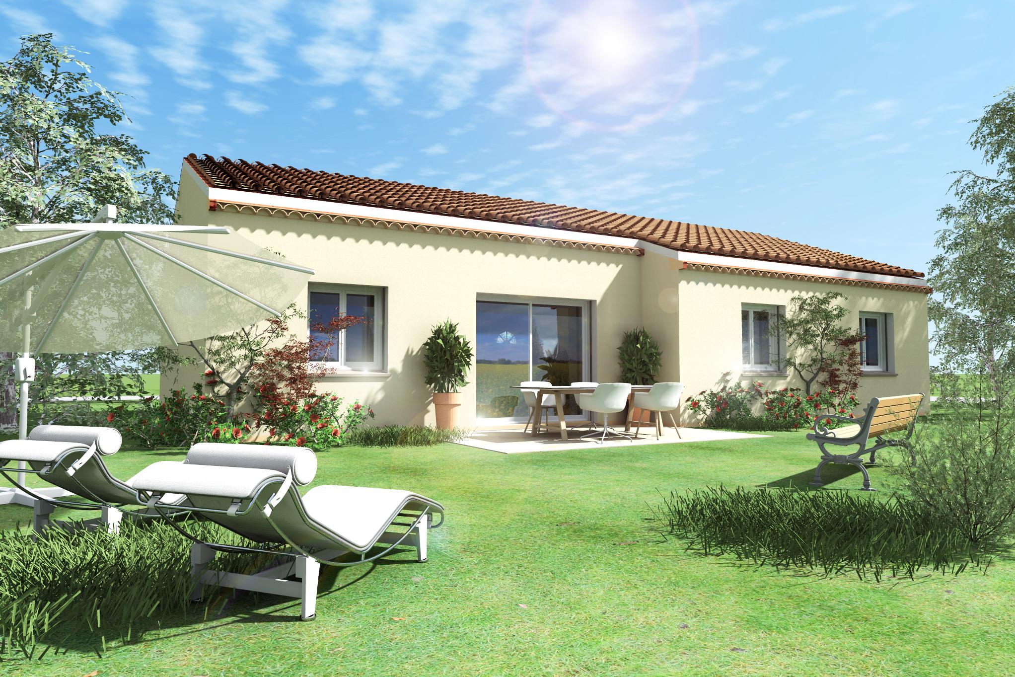 Maisons + Terrains du constructeur VILLAS PLEIN SUD -PRO RENOV26/07-D • 71 m² • ANNEYRON