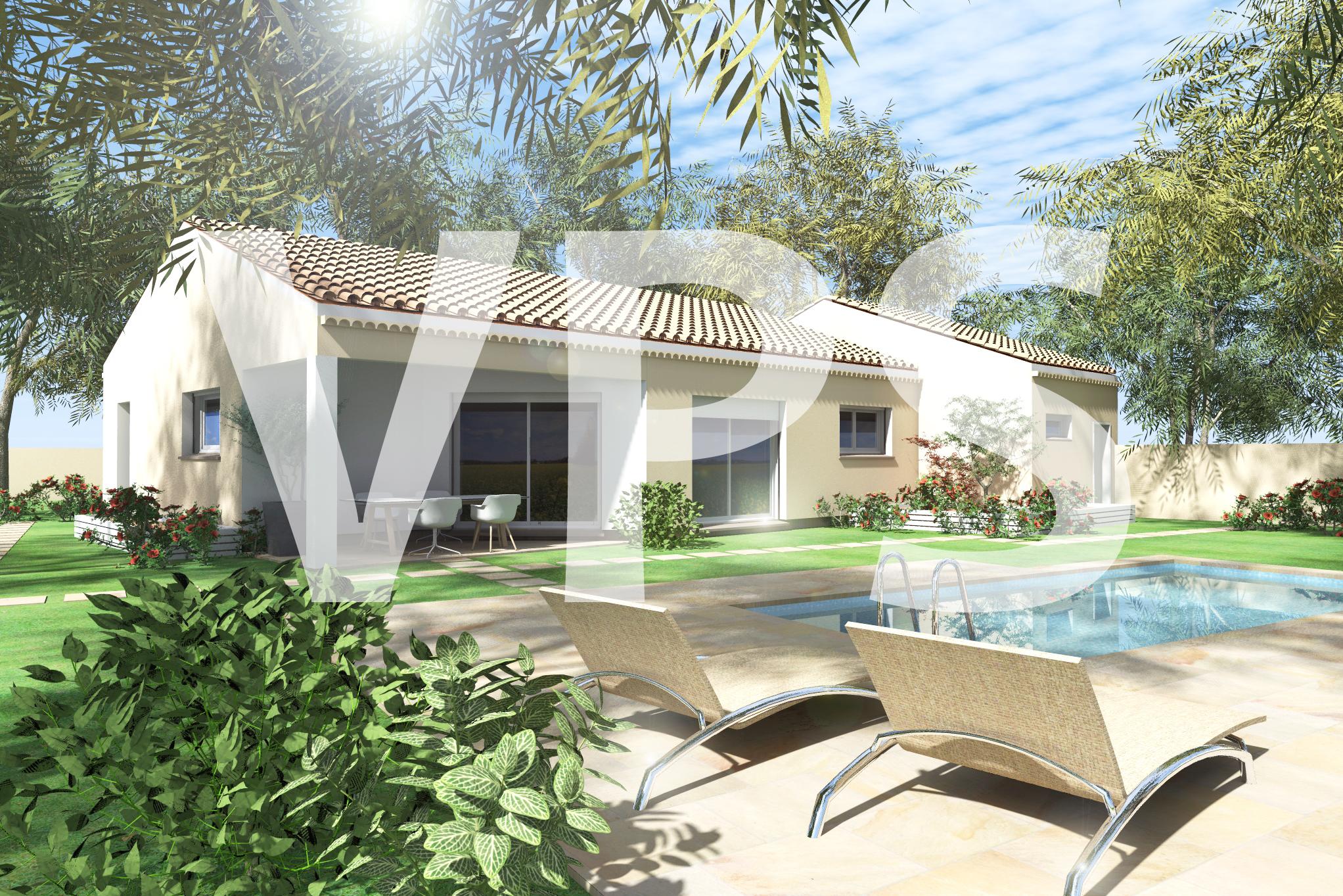 Maisons + Terrains du constructeur VILLAS PLEIN SUD -PRO RENOV26/07-D • 92 m² • ANNEYRON