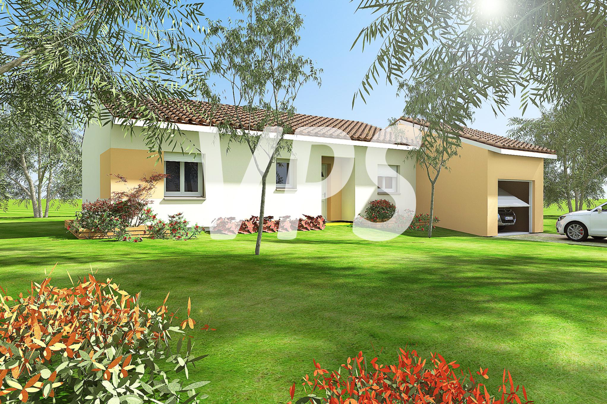 Maisons + Terrains du constructeur VILLAS PLEIN SUD -PRO RENOV26/07-D • 72 m² • SAINT ROMANS