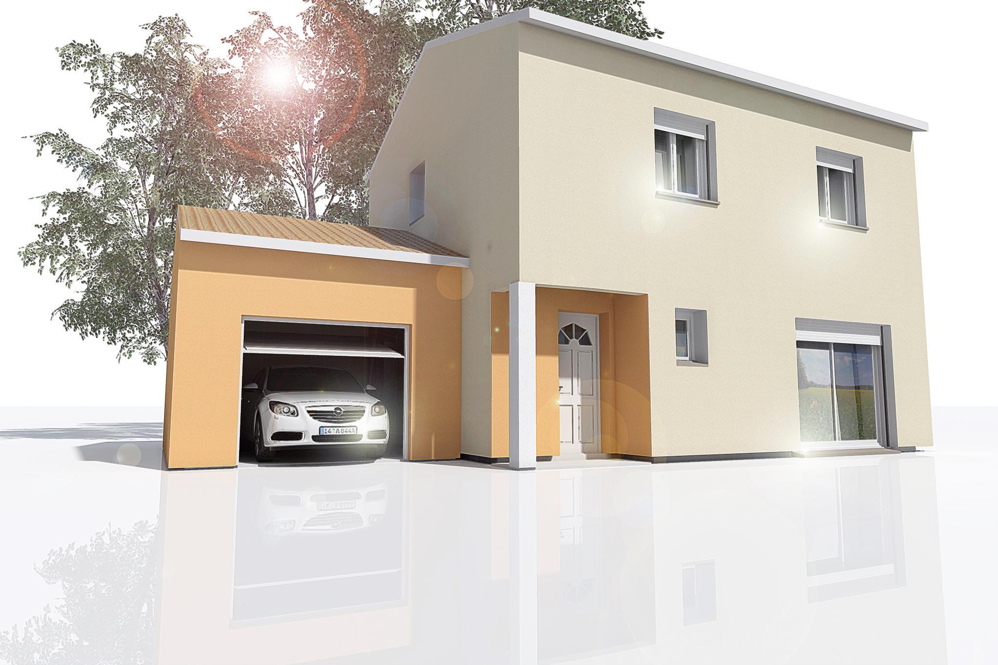 Maisons du constructeur MAISON DU DAUPHINE • 89 m² • ALIXAN