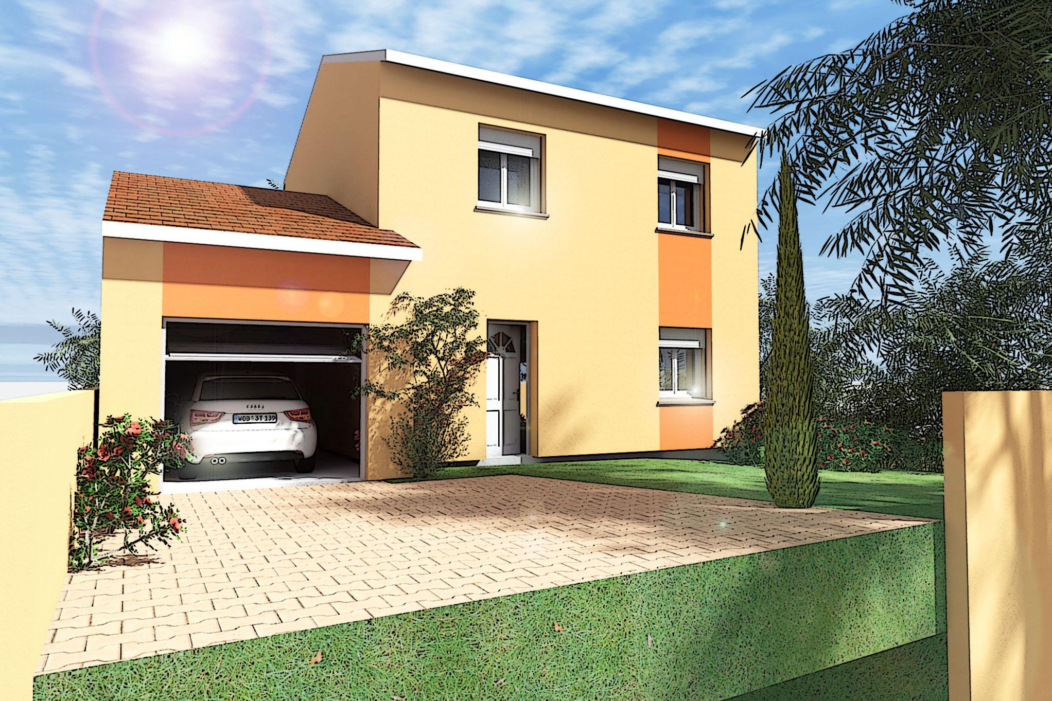 Maisons du constructeur MAISON DU DAUPHINE • 86 m² • PONT DE L'ISERE