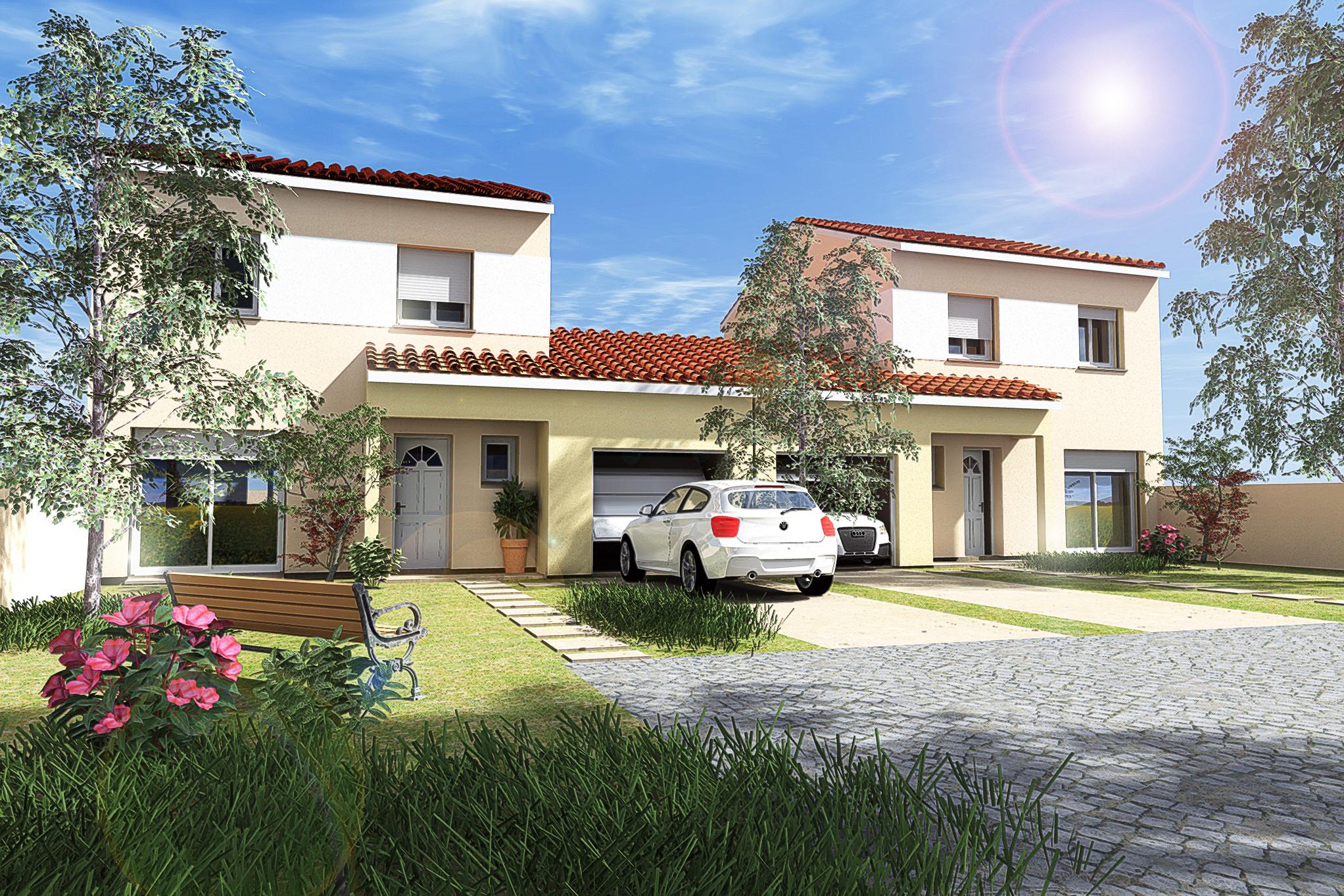 Maisons du constructeur MAISON DU DAUPHINE • 86 m² • BOURG LES VALENCE