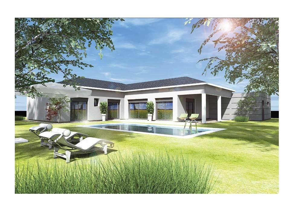 Maisons du constructeur MAISON DU DAUPHINE • 110 m² • EURRE