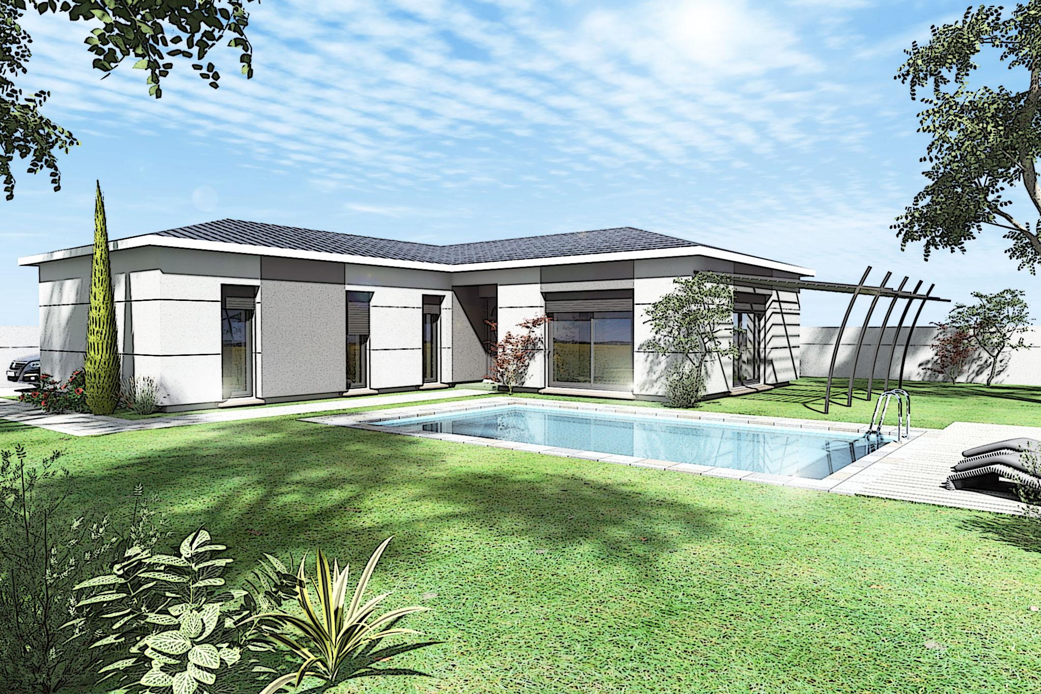 Maisons du constructeur MAISON DU DAUPHINE • 105 m² • CHARMES SUR RHONE