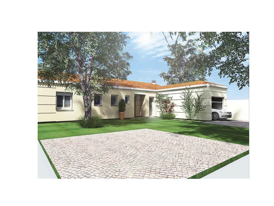Maisons du constructeur MAISON DU DAUPHINE • 86 m² • SAINT MARCEL LES VALENCE