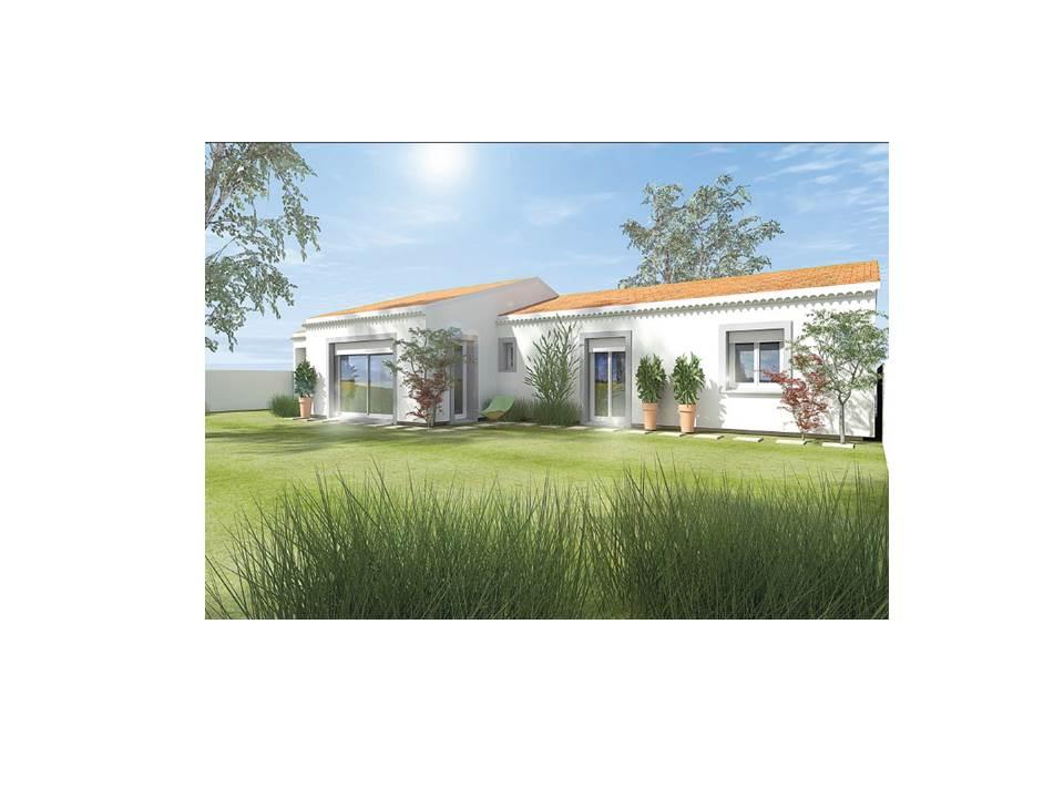 Maisons du constructeur MAISON DU DAUPHINE • 95 m² • GRANE