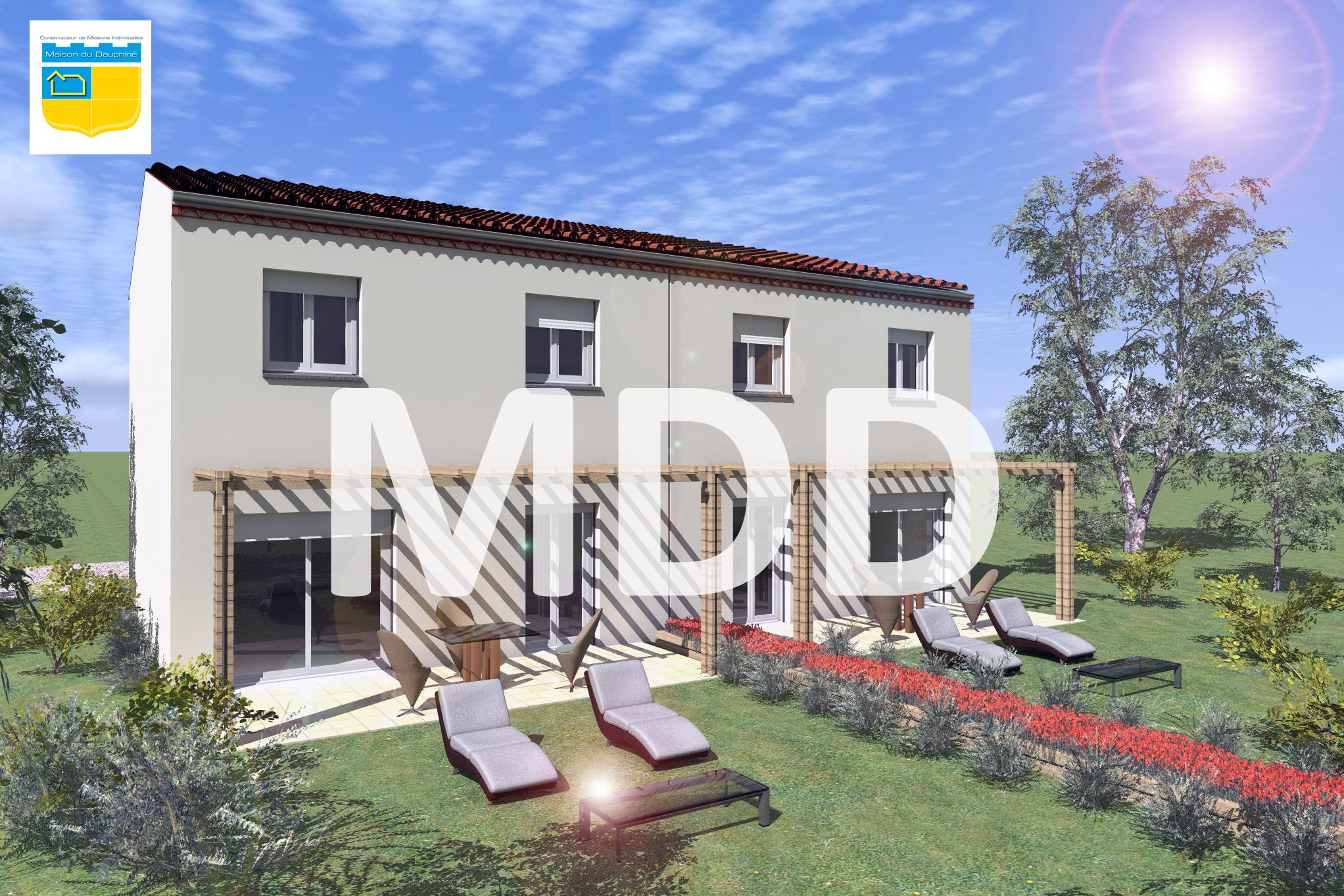 Maisons + Terrains du constructeur MAISON DU DAUPHINE • 82 m² • BOURG DE PEAGE