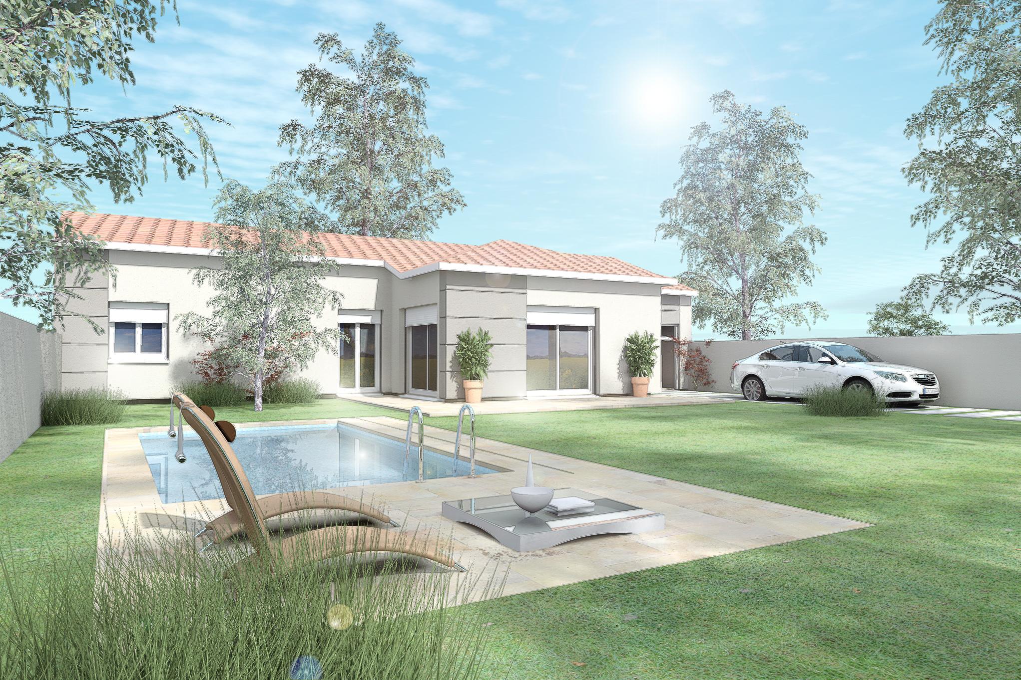 Maisons du constructeur MAISON DU DAUPHINE • 80 m² • BEAUMONT MONTEUX