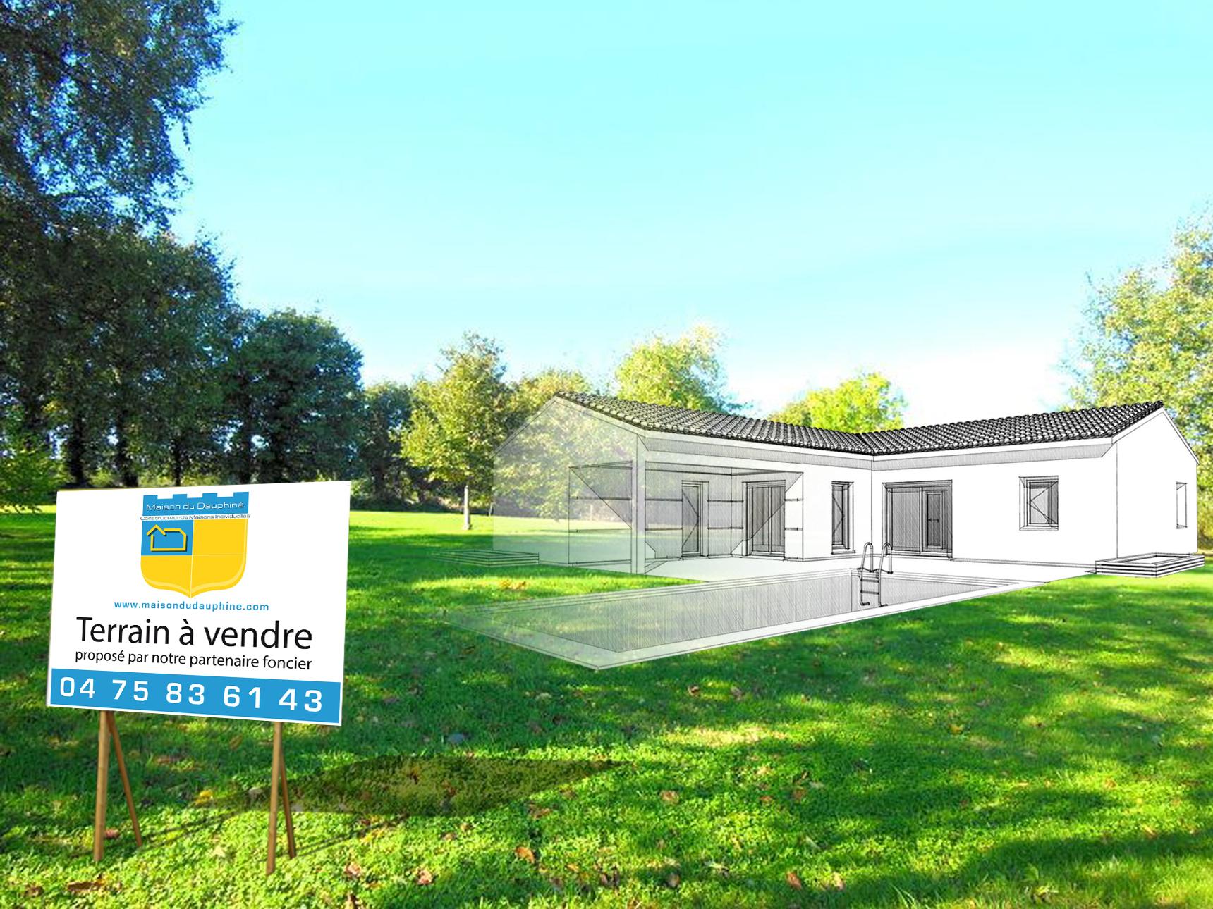Maisons + Terrains du constructeur MAISON DU DAUPHINE • 84 m² • PONT DE L'ISERE