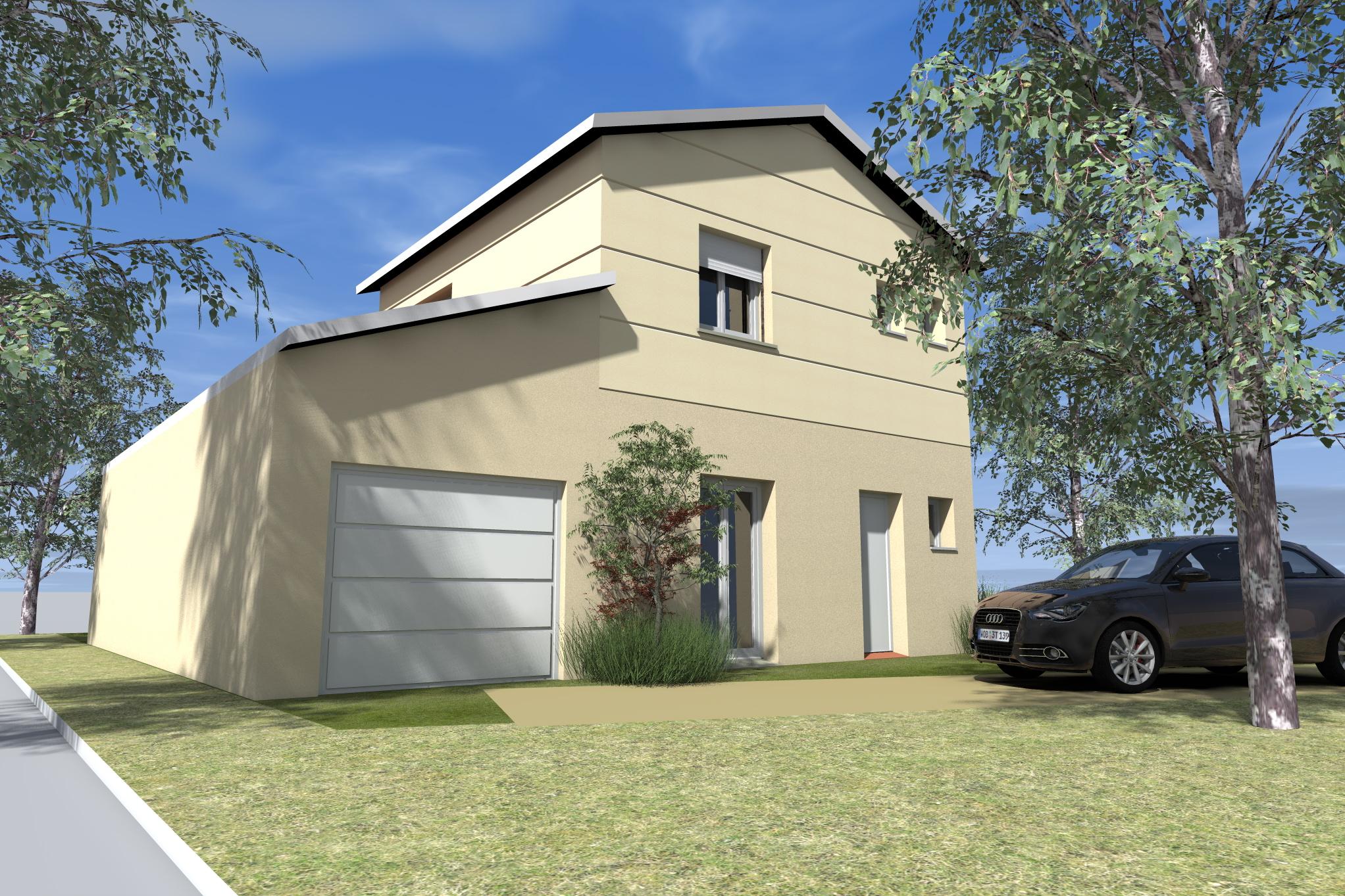 Maisons + Terrains du constructeur MAISON DU DAUPHINE • 84 m² • BEAUMONT MONTEUX