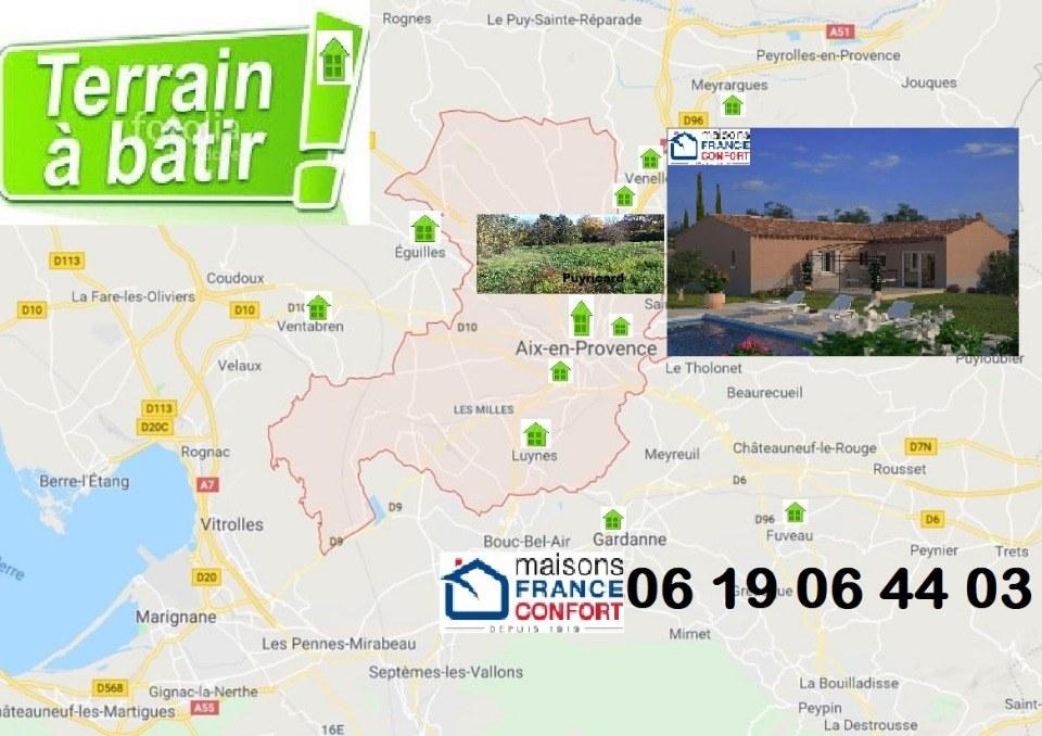 Terrains du constructeur MAISONS FRANCE CONFORT • 500 m² • BOUC BEL AIR