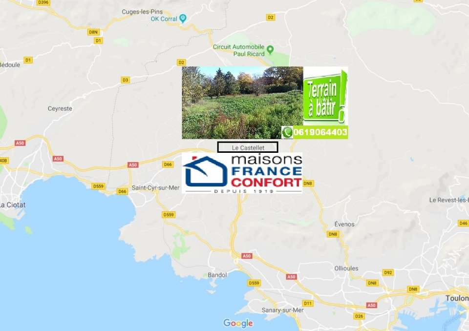Terrains du constructeur MAISONS FRANCE CONFORT • 506 m² • LE CASTELLET