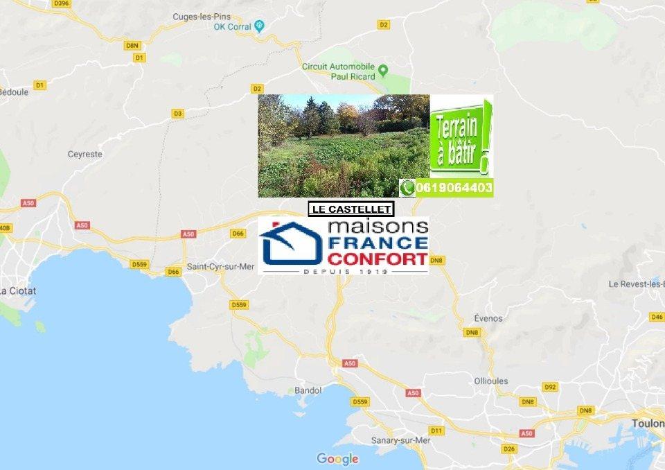 Terrains du constructeur MAISONS FRANCE CONFORT • 564 m² • LE CASTELLET