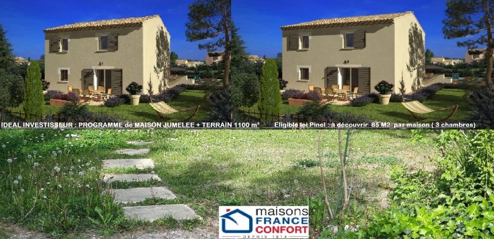 Terrains du constructeur MAISONS FRANCE CONFORT • 1100 m² • EGUILLES
