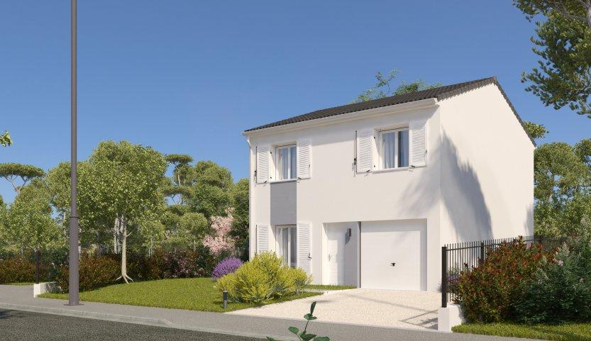 Maisons du constructeur HABITAT PARCOEUR - MEAUX 2 • 87 m² • SANCY